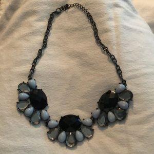 Gem statement necklace
